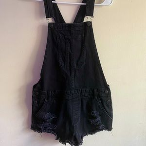 Black AE Overalls